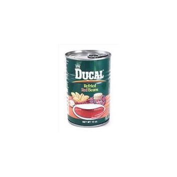 Ducal Bean Refried Red 15 Oz (Pack of 24)