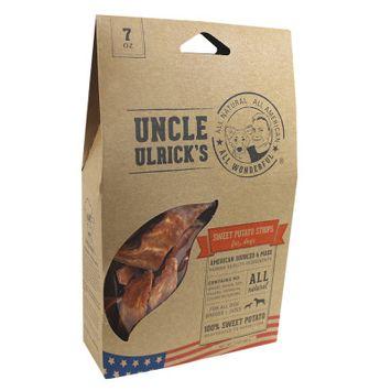 Uncle Ulrick's Uncle Ulricks Natural Sweet Potato Strips Dog Treat