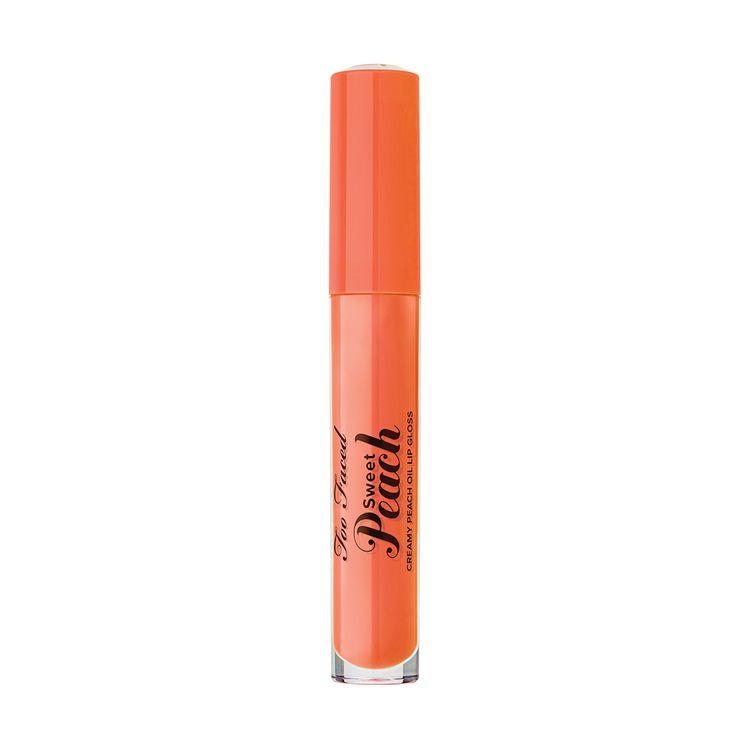 Too Faced Sweet Peach Creamy Peach Oil Lip Gloss Reviews 2020