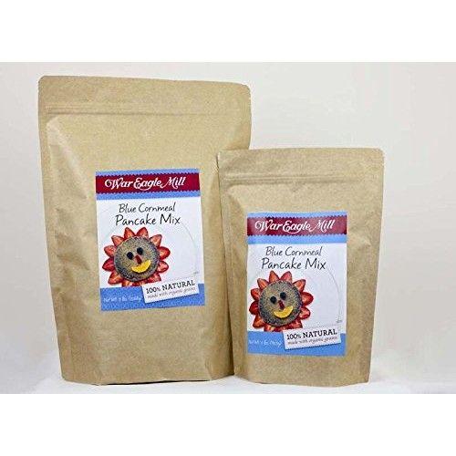 War Eagle Mill Blue Cornmeal Pancake Mix in a resealable bag (2 lbs)