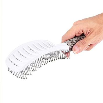 Hair Brush, Boar Bristle Paddle Hairbrush for Long, Thick, Curly, Wavy, Dry or Damaged Hair Paddle Hairbrush