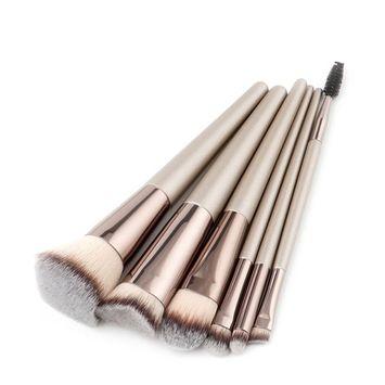 Iuhan New 6Pcs/9Pcs/10Pcs/12Pcs Pencil Foundation Eye shadow Makeup Brushes Eyeliner Brush
