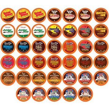 Two Rivers Coffee TRC Hot Cocoa Sampler 40 Count