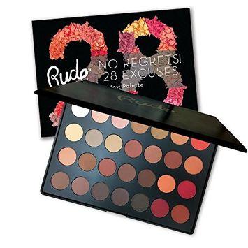 Rude No Regrets! 28 Excuses Eyeshadow Palette - Leo Matte