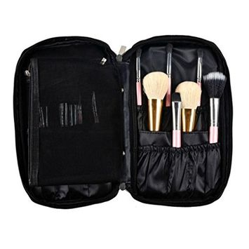 DEESEE(TM) Pro Makeup Brush Bag Cosmetic Tool Brush Organizer Holder Pouch Pocket Kit