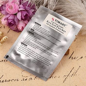 Yimart® 20 Pairs Professional Lint Free Under Eye Gel Pad Patches for Eyelash Extensions