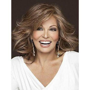 Goddess Shoulder Length Wig Color RL8/29SS SHADED HAZELNUT - Raquel Welch Wigs 9