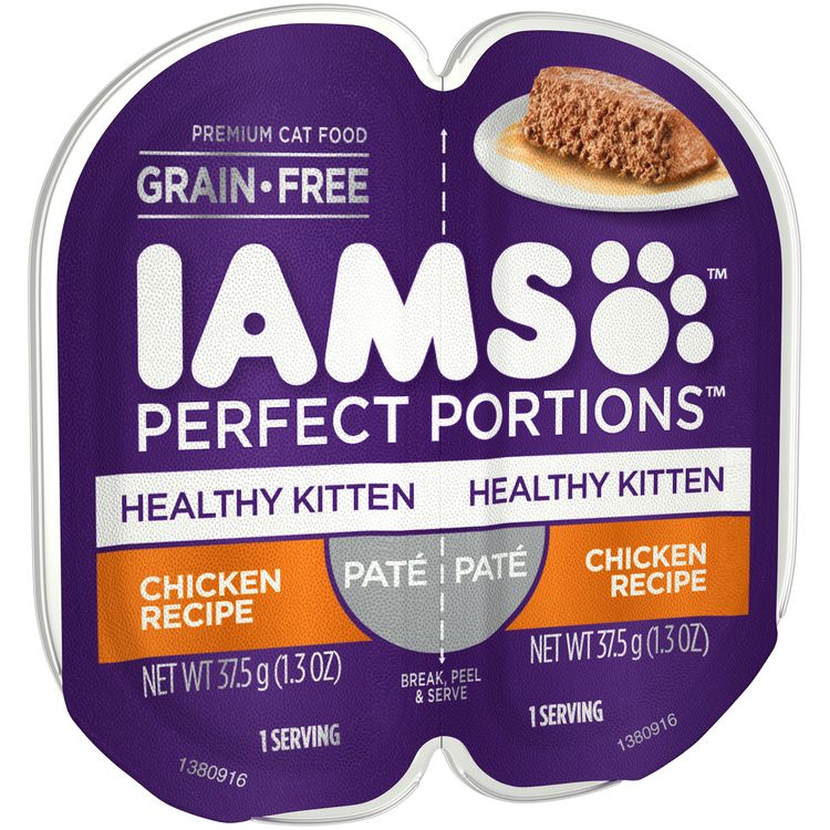 Iams™ Perfect Portions™ Healthy Kitten Chicken Recipe Premium Cat Food