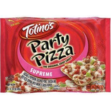 Totino's Supreme Party Pizza, 10.9 oz