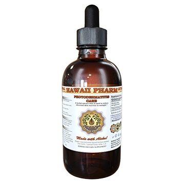 Photodermatitis Care Liquid Extract, Rhodiola (Rhodiola Rosea) Root, Astragalus (Astragalus Membranaceus) Root Tincture, Herbal Supplement, Hawaii Pharm, Made in USA, 15x4 fl.oz