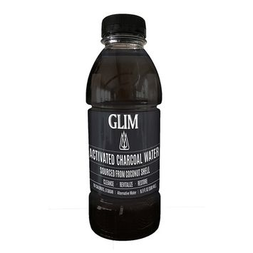 Glim - Activated Charcoal Water - 16.9 fl. oz.