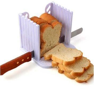 Bread toast Cutter Cake Bread Slicer Toast Fragment Stratifier Baking Tools