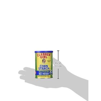 Clabber Girl Corn Starch - Gluten Free, Vegan, Vegetarian, Thickener for sauce, soup, gravy in a Resealable Can - 6.5 oz can (1)