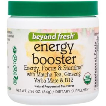 Energy & Focus Booster - PEPPERMINT (84 Grams Powder) by Beyond Fresh at the Vitamin Shoppe