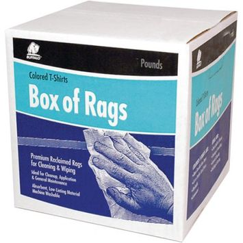 Buffalo Industries Llc Rag-Wiping Color 8Lb Box