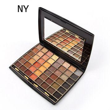 48 Colors,Fenleo Eyeshadow Palette Luxury Golden Matte Nude Eye Shadow Palettes