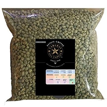 Gesha/Geisha Washed Process Single Origin Unroasted Green Coffee Beans, Specialty Grade From Colombia Estates, Direct Farm Trade (Gesha - 86.5 pt, 5 lb)