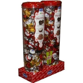 DELiCiA Chocolate Truffles with Fine Italian Chocolate Gifts 2 in 1 (NET WT 900 g)