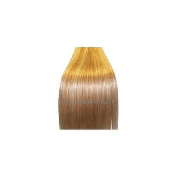 Supermodel - 18 Inch Blonde Mix (Col 27/613). Full Head Clip In Human Hair Extensions. Hig