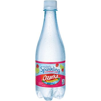 Ozarka Sparkling Water, Raspberry Lime,