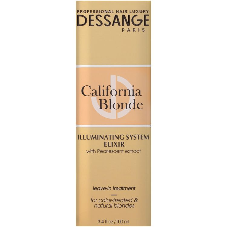 Dessange Paris California Blonde Illuminating System Elixir Leave-In Treatment