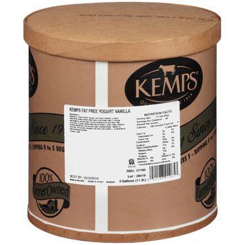 Kemps® Fat Free Vanilla Yogurt 3 gal. Tub