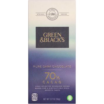 Green & Black's 70% Cacao Pure Dark Chocolate