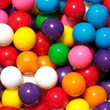 Candy Shop Assorted 8 Color 1 Inch Gumballs