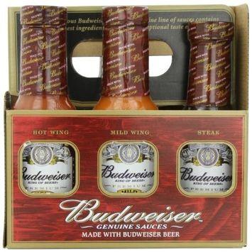 Budweiser Genuine Sauces Gift Set, 6 Pack
