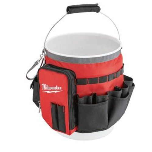 Milwaukee 10 in. Bucket Organizer Tool Bag