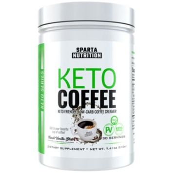 Keto Coffee French Vanilla - FRENCH VANILLA (7.41 Ounces Powder) by Sparta Nutrition at the Vitamin Shoppe