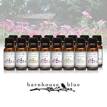 Flower Garden - Set of 16 Premium Fragrance Oils - Barnhouse Blue