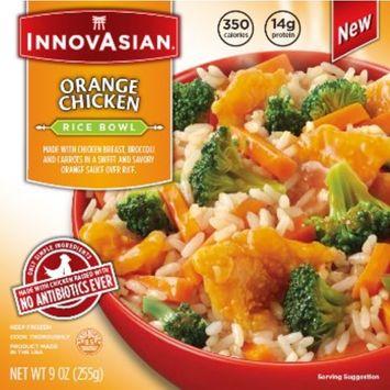 InnovAsian Cuisine Orange Chicken Rice Bowl, 9 oz