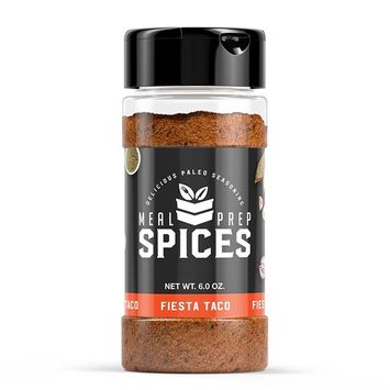Meal Prep Spices Fiesta Taco Seasoning - Paleo, Kosher, and Gluten Free - One (1) 6oz Bottle