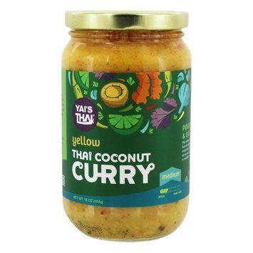 Yais Thai Curry Yellow Coconut, 16 oz