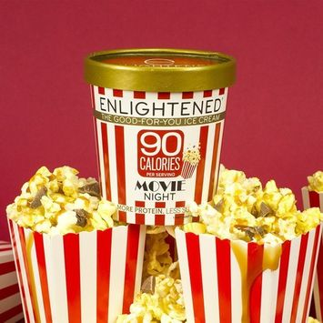 Enlightened - The Good For You Ice Cream, High Protein-Low Sugar-High Fiber-Low Fat, Movie Night, Pint (8 Count)