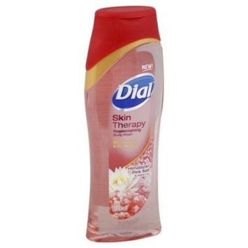 Dial Skin Therapy Replenishing Himalayan Pink Salt & Water Lily Body Wash by Dial