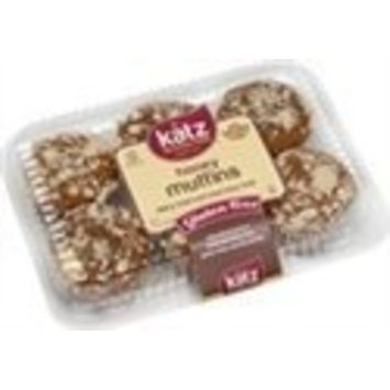 Katz Gluten Free Honey Muffins | Dairy, Nut, Soy and Gluten Free | Kosher (6 Packs of 4 Muffins, 11 Ounce Each)