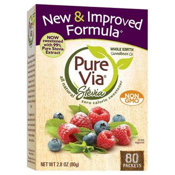 Merisant Company Purevia All Natural Sweetener 2.8 oz 80 ct