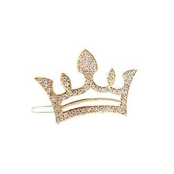 Joyci 1Pcs Elegance Women's Hair Pin Simple Style Crown Ponytail Hair Clip (G