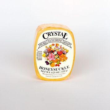 Crystal Glycerine Soap Bars Honeysuckle (24 bars)