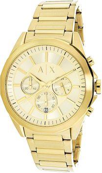 A/x Armani Exchange Armani Exchange Men's AX2602 Gold Stainless-Steel Quartz Fashion Watch