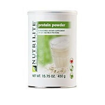 2 Pack Nutrilite Protein Powder 15.75 Oz. Can - Leaner Than Meat, Good for Your Heart (Unflavored, Neutral Tasting)