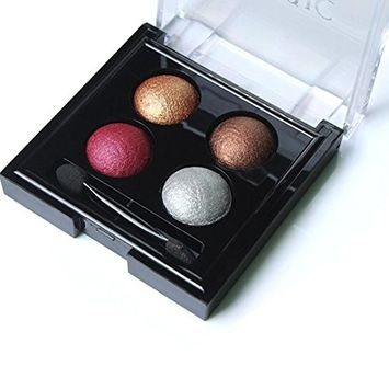 4 Color Matte Eyeshadow Palette, Shimmer Eye Shadow Highlight Cosmetic Makeup