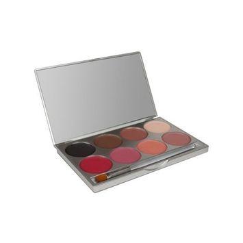 Mehron Makeup E.Y.E Powder & Cheek Powder Palette (8 Shades)