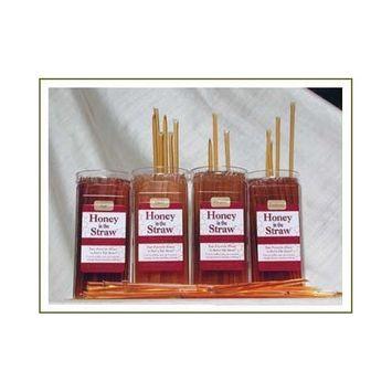 Honey Sticks - California Yellow Star Thistle Honey - 2000 Count Box [CA Yellow Star Thistle]