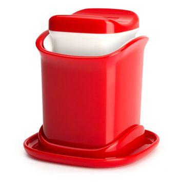 Zak Butter Applicator Color: Red