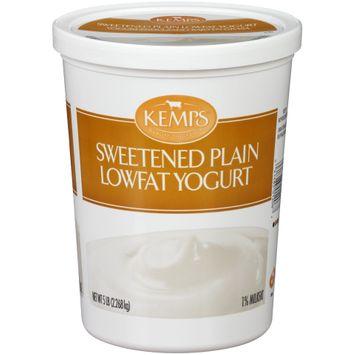 Kemps® Sweetened Plain Lowfat Yogurt