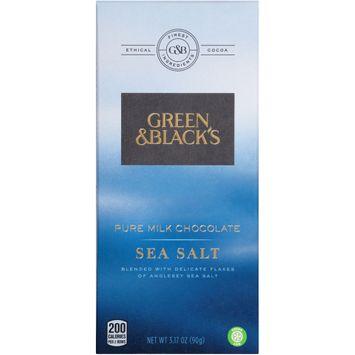 Green & Black's Sea Salt Pure Milk Chocolate
