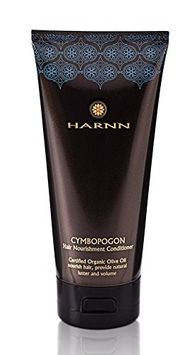 Harnn CYMBOPOGON HAIR NOURISHMENT CONDITIONER with Certified ORGANIC Olive Oil, 5.07 fl. oz - (Organic Olive Oil, Lychee Extract, Phytokeratin)